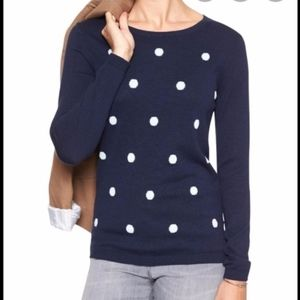 Blue Banana Republic knit pullover top/sweater S